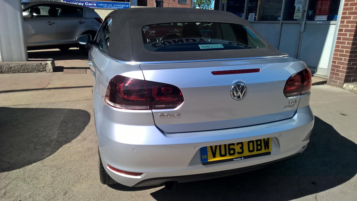 Click to see a larger image for the volkswagen Golf 1.6 TDi se Cabriolet 2013 (63)